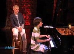 Greyson Performing on Ellen
